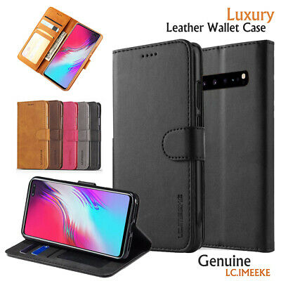 AU7.99 • Buy For Samsung Galaxy S20 S21 S10 S8 S9 Plus Note8 9 10+ Wallet Case Leather Cover