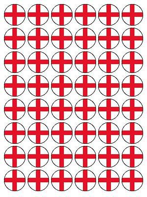 £1.99 • Buy St George England Flag Edible Cup Cake Topper Decorations