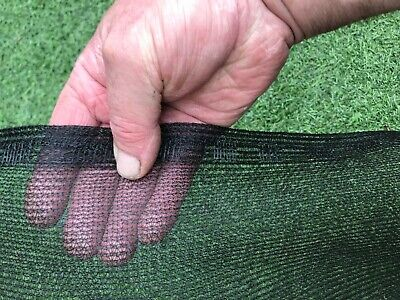 3m X 5m Garden / Black Greenhouse Shade /  Butterfly  Netting Pest Control • 20£
