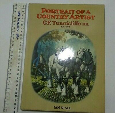 Portait Of A Country Artist - C F Tunnicliffe RA 1901-1979 • 10.10£