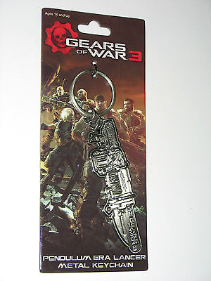 $29.99 • Buy Gears Of War 3 Metal  Retro Lancer  Keychain