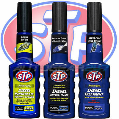 STP Diesel Treatment Injector Cleaner DPF Diesel Particulate Filter Cleaner. 3 • 12.49£