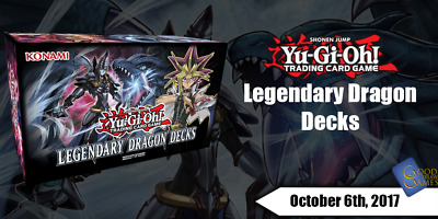 Legendary Dragon Decks - LEDD - Pick Any 4+ Cards (50% OFF!) - YuGiOh Cards • 0.99£