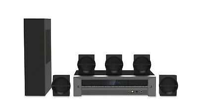 Blackweb 1000-Watt 5.1 Channel Receiver Home Theater System With BT - Brand New • 99.79$