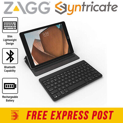 AU107.96 • Buy Zagg Flex Bluetooth Universal Keyboard & Stand For Smart Phones /ipad/tablet
