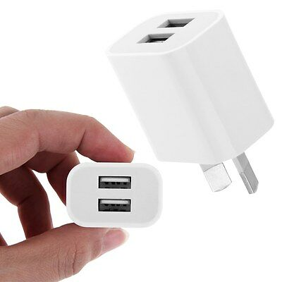 AU6.22 • Buy AU Plug Dual Port USB Wall Charger Power Adapter For PDA, MP3,MP4,Tablet PC