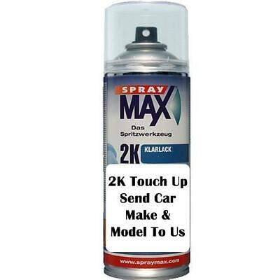 AU59.99 • Buy 2K Touch Up Auto Spray Paint Can Any Car Code Solid Or Base Factor Colour 403ml