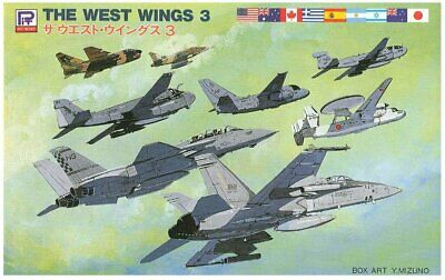 £16.38 • Buy Pit-Road Skywave Series S-13 The West Wings 3 1/700 Scale Kit Plastic Model Toy
