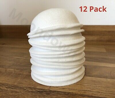 12 Pk PRE FORMED NEST FELTS/LINERS FOR CANARY FINCH BIRD NESTING PANS • 11.95£