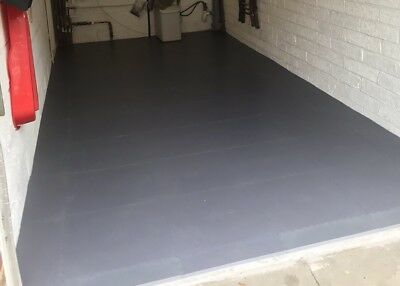 1 Tile Of Superior Garage Van Shed Pvc Flooring Matting Heavy Duty Container • 13.99£