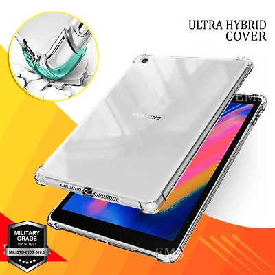 AU17.95 • Buy For Samsung Galaxy Tab A 10.1 2019 T510 515 Kids Shockproof TPU Clear Case Cover