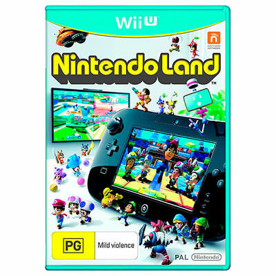 AU25 • Buy Nintendo Land Family Kids Video Game Fun Themes Compilation For Nintendo Wii U
