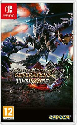 AU179 • Buy Monster Hunter Generations Ultimate Nintendo Switch NS RPG Action Adventure Game