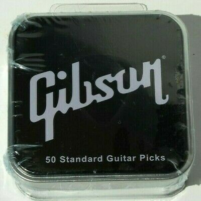 $ CDN29.99 • Buy Gibson 50 Pack Guitar Picks - Medium APRGG50-74M