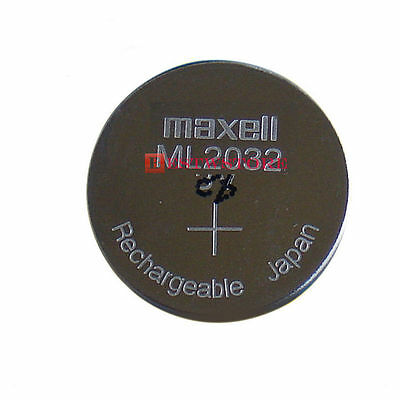 AU8.43 • Buy CMOS Battery New MAXELL ML 2032 ML2032 RECHARGEABLE 3V Button Coin Cell Battery