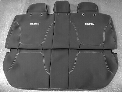 AU290 • Buy Genuine Mitsubishi Mn Triton Rear Neoprene Seat Cover Aug 2009 - May 2015