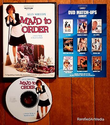 $19.30 • Buy MAID TO ORDER (DVD, 2002) Starring Ally Sheedy *RARE* OOP FREE SHIPPING