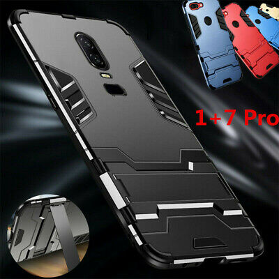 AU5.05 • Buy For OnePlus 7 7 Pro 6T 6 5T 3T Kickstand Shockproof  Armor Thin Hard Case Cover