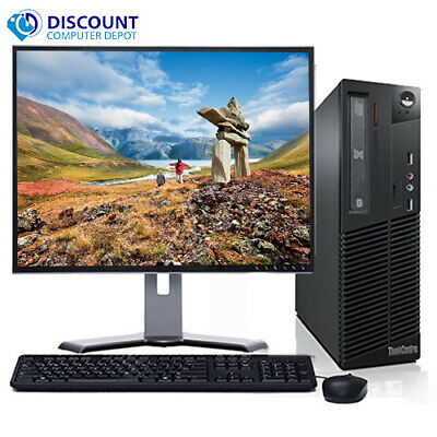 $ CDN169.23 • Buy Lenovo Thinkcentre Desktop I3-2100 4GB 250GB Win 10 Home WiFi Key Mice 17  Lcd