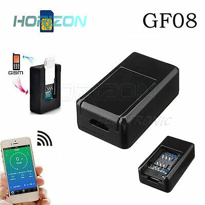 AU10.27 • Buy GF07/GF08 Mini SPY GPS/GSM Tracker Real Time Tracking Locator Device For Car