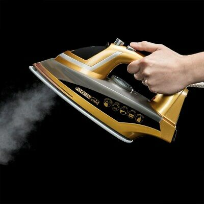 View Details JML Phoenix Gold Iron With Built-In Steam Generator & Ceramic Sole Plate 2200W • 23.99£