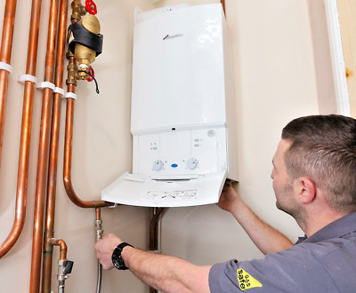 SUPPLY & FITTED Worcester Bosch Combi Boiler +Magnetic Filter+Thermostat+Flush • 1,799£