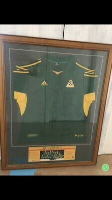AU250 • Buy Signed Socceroos World Cup Jersey