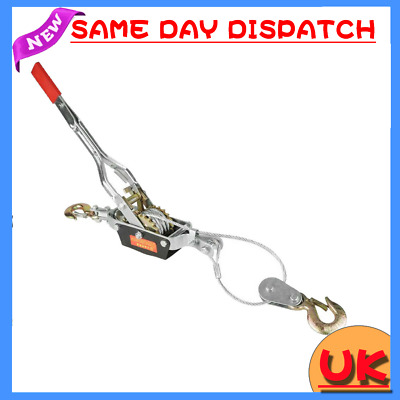 £24.50 • Buy Quality 4 TON HEAVY DUTY CABLE PULLER HAND WINCH TURFER FOR CAR CARAVAN Local