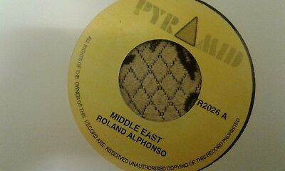 £7.99 • Buy Roland Alphonso , Middle East , Jungle Bit , 7    Pyramid Label