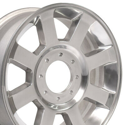 $980 • Buy 20  Rims Fit HD Ford F250-F350 Polished Wheels 3693