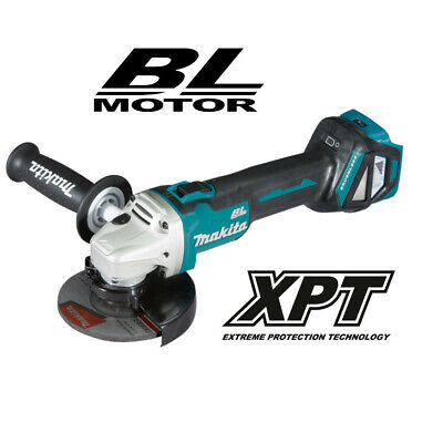 Makita DGA511Z 18v Brushless Adjustable Variable Speed125mmAngleGrinderBody Only • 139£
