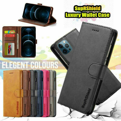 AU7.95 • Buy Apple IPhone 7 8 Plus X XS Max XR 6 6S Wallet Case Luxury Leather Flip Cover