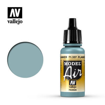 Vallejo Model Air: Flanker Blue - Acrylic Paint 17ml VAL71.337 • 2.75£