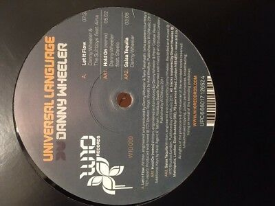 Danny Wheeler & The Suitboys/Steelo ‎– Universal Language Sampler 12  Vinyl D&B • 8£
