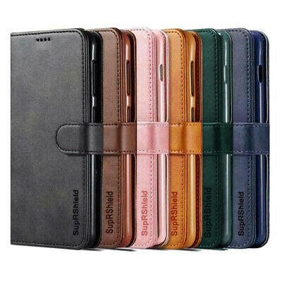 AU8.99 • Buy Wallet Leather Flip Case Cover For IPhone 7 8 6 6S Plus X 11 12 Pro XS Max XR