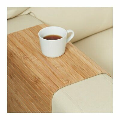 AU39.99 • Buy IKEA Sofa Arm Rest Tray Flexible Couch Placemat Wood Snack Table Natural Holder