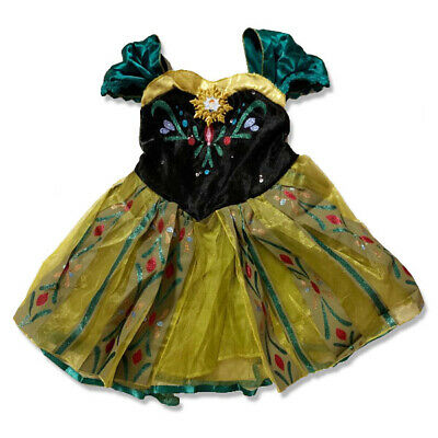 AU17.95 • Buy Girl Dress Princess Queen Anna Party Birthday Costume Size 1-6 Yrs