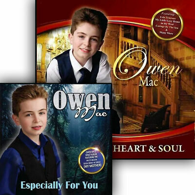 £17.49 • Buy Owen Mac - Especially For You & Heart And Soul 2CD Set