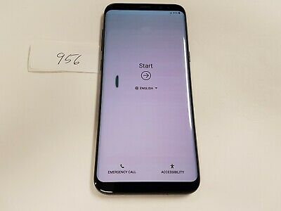 $ CDN183.77 • Buy Samsung Galaxy S8+ SM-G955U - 64GB - Midnight Black (Unlocked) (956)