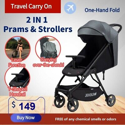AU149 • Buy New 2019 Lightweight Compact Baby Stroller Pram Easy Fold Travel Carry On Plane