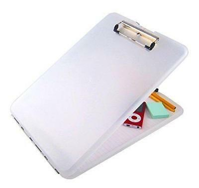 Anker A4 Plastic Compact Clipboard Paper Storage Box File Clear - BOPX/3 • 5.81£