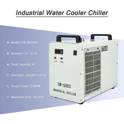 £369.91 • Buy CW5000 Industrial Water Chiller Cooler For 60W/80W/100W Laser Engraving Machine