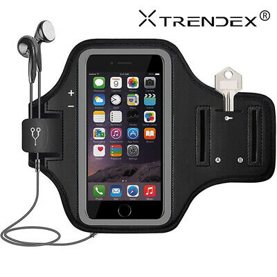 For Samsung Galaxy S20 S10 A71 Sport Armband Gym Running Jogging Case Holder Bag • 6.38£