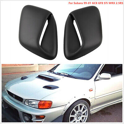 sti hood scoop black