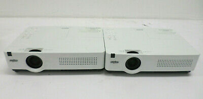 $39.98 • Buy Lot Of 2 Sanyo PLC-XU300 LCD Projector Multimedia Parts Only No Accessories