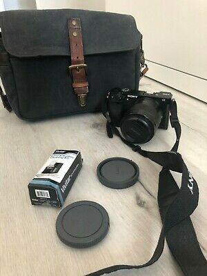 $ CDN812.01 • Buy Sony Alpha A6000 24.3MP With 50mm F1.8 Lens And ONA Bowery Bag+2 Batteries