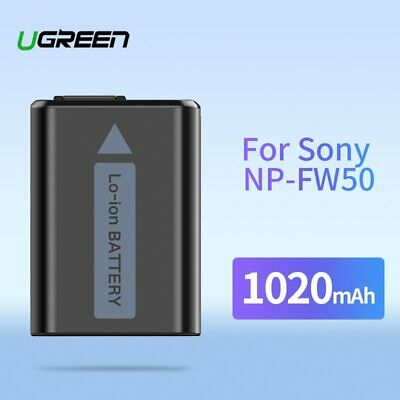 $ CDN23.88 • Buy Ugreen NP-FW50 Camera Battery 1020mAh For Sony A7m2 A7r2 S2 NP FW50 A6500 A6300