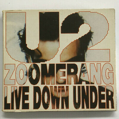 U2 Zoomerang Live Down Under 2 CD Set LIVE Sydney Australia 93 Italy Import HTF • 59.99$