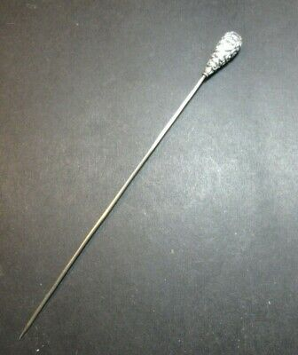 Antique Sterling Silver  Hat Pin  1900's Edwardian  • 45£