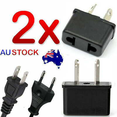 AU4.99 • Buy 2x USA US EU JAPAN ASIA To AU Australia Plug AC Power Adapter Travel Converter